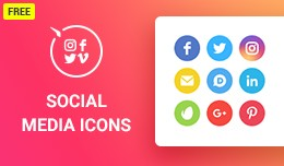 Social Media Icons for OpenCart