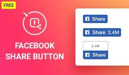 Facebook Share Button for OpenCart