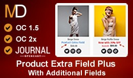 Product Extra Field Plus - Journal Theme