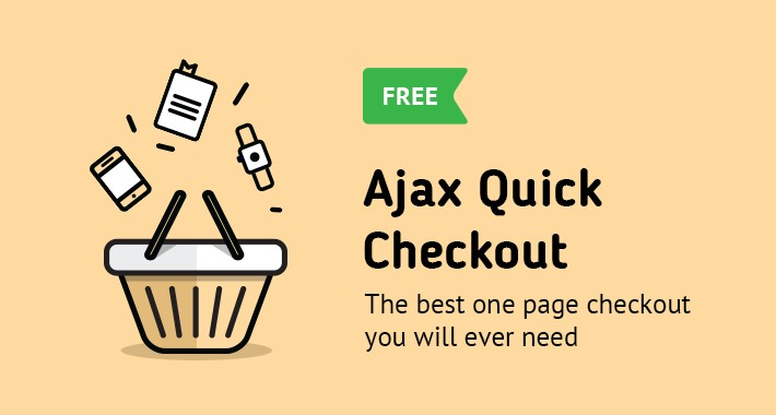 AJAX Quick Checkout FREE (One Page Checkout, Quick Checkout)