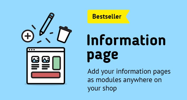 Information page as module