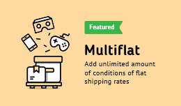 Multi Flat Rate + Free Shipping
