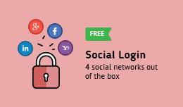 Social Login FREE (Facebook, Google Plus, Linked..