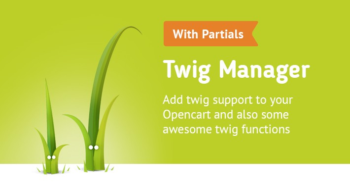 Twig Manager (add .twig support for your Opencart 2.x)