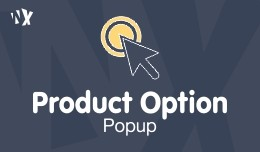 Product Option Popup