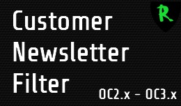 Customer Newsletter Filter