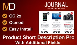 Product Short Description Pro v1 - Journal 2 Theme