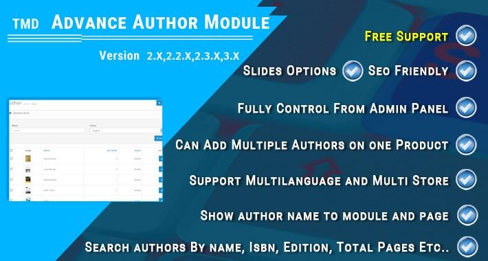 Advance Author Module