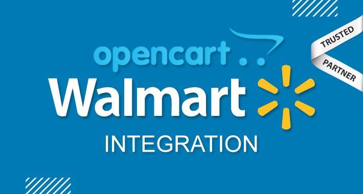 Walmart Opencart Integration (Official Walmart Partner)