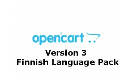 Opencart v3 Finnish language pack