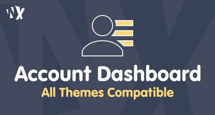 Customer Account Dashboard