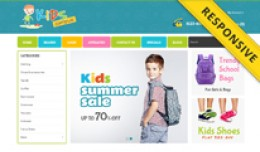 Kids Campus Opencart Theme - OPCADD019