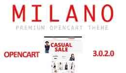 Milano Premium Store OpenCart 3.X