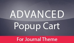 Advanced Popup Cart for Journal Theme