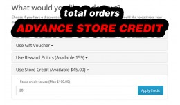 Advance Store Credit