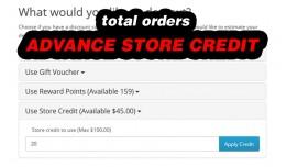Advance Store Credit