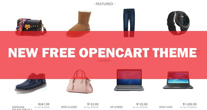 New Free - OpenCart theme