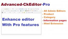 Advanced CKEditor Pro OC2x