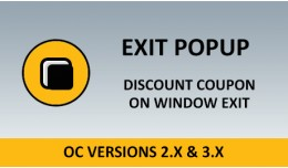 Exit Popup - Get Coupon On Window Leave