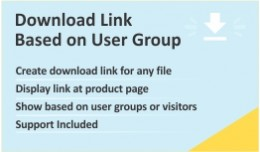 Download Link as per User Group