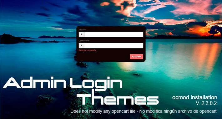 Admin Login Themes