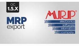 Export do účtovníckeho software MRP 1.5.x