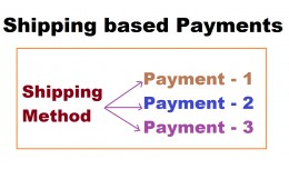 Shipping based payments OC3x