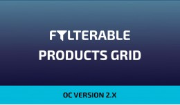Filterable Products Grid