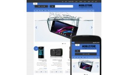 OpenCart 3 Theme Avenue Mobile Marine