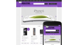 OpenCart 3 Theme Avenue Mobile Violet