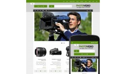 OpenCart 3 Theme Avenue Photo Video Grass