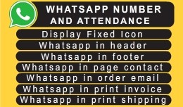 WHATSAPP NUMBER AND ATTENDANCE