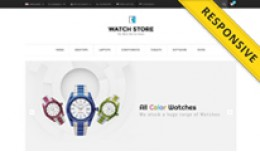 Watch Opencart Theme - OPCADD005