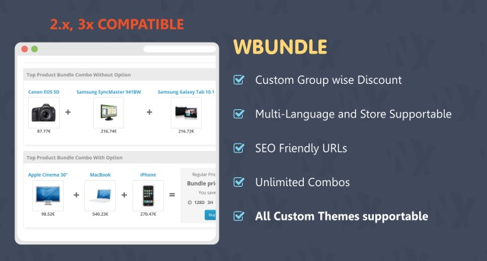 Wbundle - Sale Products in Combo