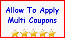 Allow To Apply Multi Coupons