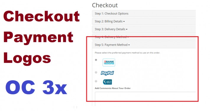 Checkout Payment Logos OC3x