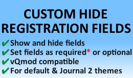 Custom Hide Registration Fields