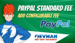 Paypal Fee / Commision Opencart Extension