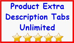 Product Extra Description Tabs Unlimited