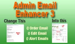 Admin Email Enhancer 3