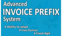 Advanced Invoice Prefix System