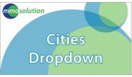 Cities Dropdown