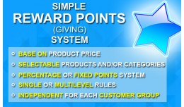 Simple Reward Points System