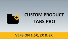 Custom Product Tabs Pro