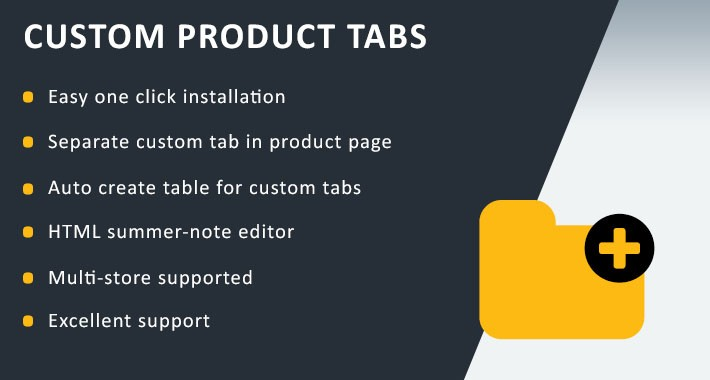 Custom Product Tabs