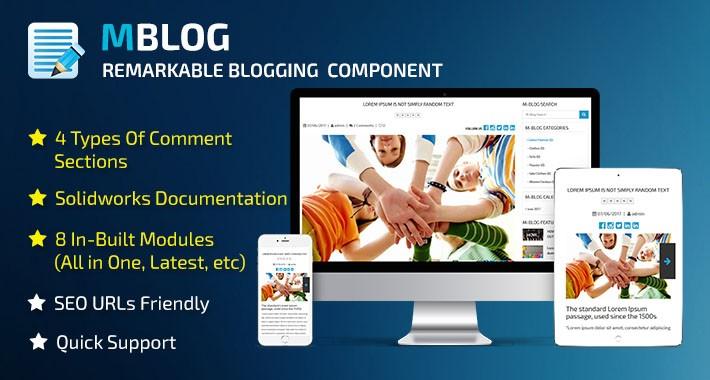 MBlog - Remarkable Blogging Component