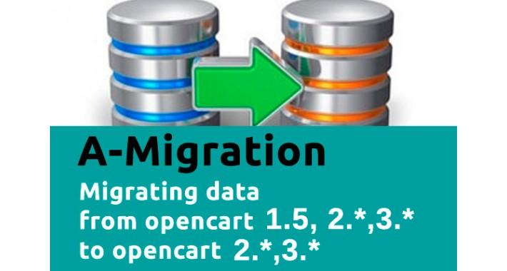 A-migration - data migration 1.5.*, 2.* -> 2.*,3.*