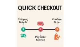 Quick Checkout(Less Steps)