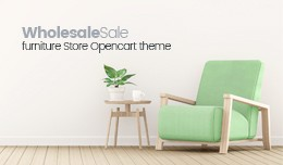 Wholesale Store Responsive OpenCart Template 64073