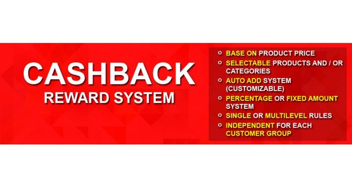 OpenCart - Cashback - Marketing (Customer Reward) System
